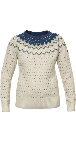 Fjällräven Övik sweater beige/petrol